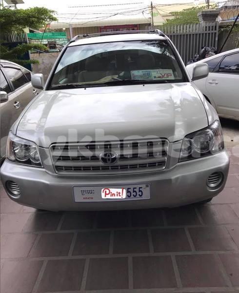 Big with watermark toyota highlander kampong speu province amleang 4988